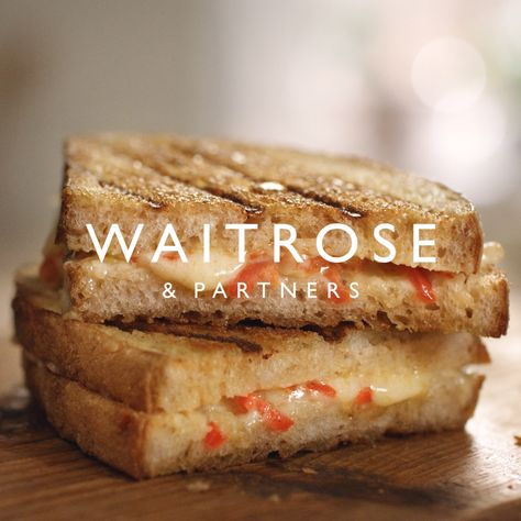 You can tell when every loaf is expertly crafted.   Try our No.1 sourdough in this lightly grilled toastie oozing with melted gruyère and chilli, ready in just 20 minutes.     Tap for the full Waitrose  Partners recipe.