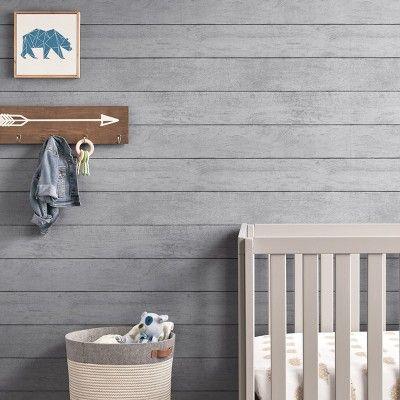 Buffalo Plaid Peel Stick Wallpaper Gray Thershold Neutral Wallpaper Peel And Stick Wallpaper Plaid Wallpaper