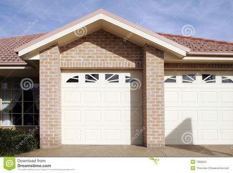 Suburban Town House Garage Door New Modern Suburban Town House Garage Door Syd Sponsored Town House Syd Mo In 2021 Garage Doors Garage Door House Townhouse
