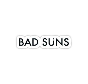 Bad Suns Logo Sticker By Peyton F Sun Logo Logo Sticker Logos