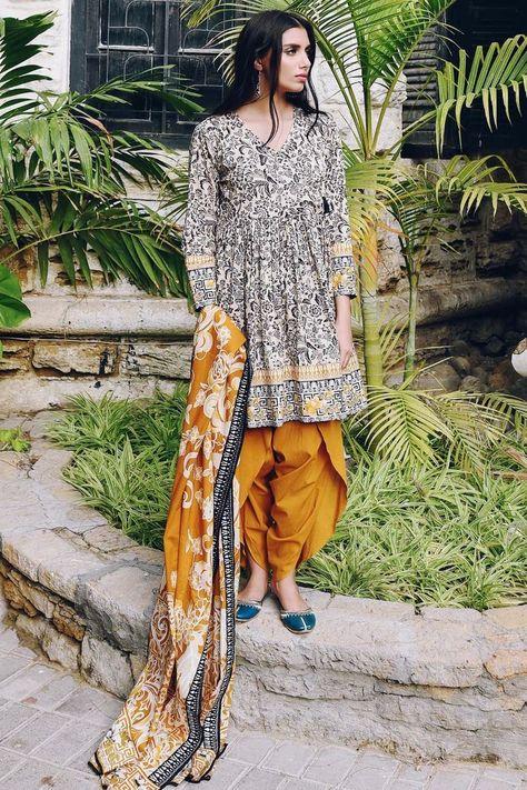 Printed Cambric Shirt 3.0 m Printed Cambric Sleeves 0.75 m Cambric Shalwar 2.5 m Cambric Dupatta 2.5 m