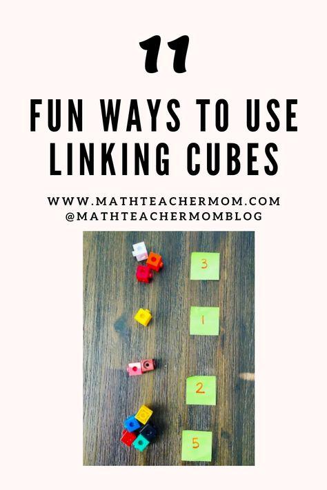 11 Fun Ways to Use Linking Cubes