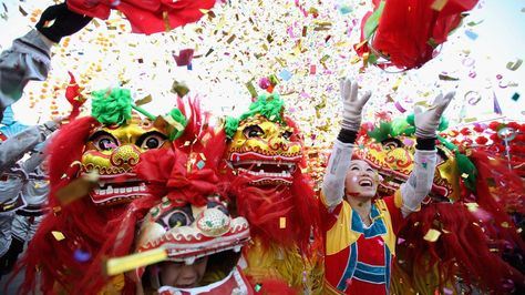 Lunar New Year Asia S Biggest Party Chinese New Year Celebration Around The World Chinese New Year Traditions