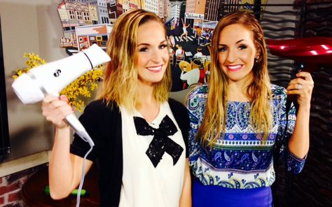 Brooke and Brittany Graham put two blow dryers to the test to find out what works best for the price.