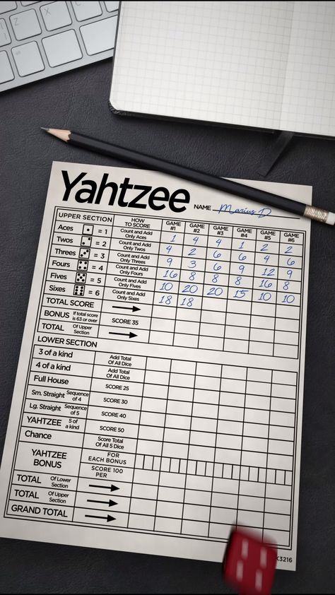 Roll dice to play YAHTZEE® With Buddies! It is the fun, classic board game with a new look. Play dice with friends in this multiplayer game.