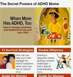 Mothers with ADHD: Parenting Stories from Women