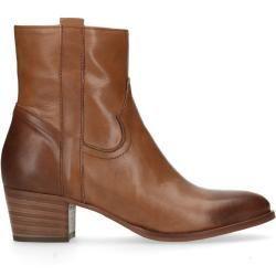 Reduzierte Damenstiefeletten Damenboots Kurze Braune Lederstiefeletten 36 37 38 39 40 41 Manfieldm Brown Leather Ankle Boots Womens Boots Ankle Boots