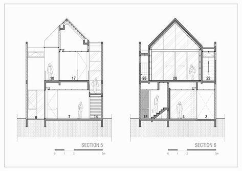 Gallery Of Hhh House Simple Projects Architecture 3 Arsitektur Perumahan Denah Rumah Rumah Modern