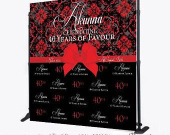 White Diamonds Step N Repeat Backdrop For 50th Birthday 40th Etsy In 2020 Personalized Birthday Banners Custom Vinyl Banners 50th Birthday