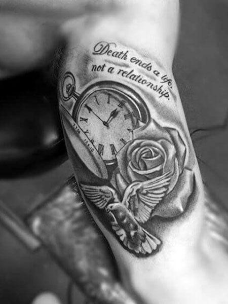 55 Best Arm Tattoo Ideas For Men Bicep Tattoo Inner Bicep Tattoo Life Death Tattoo
