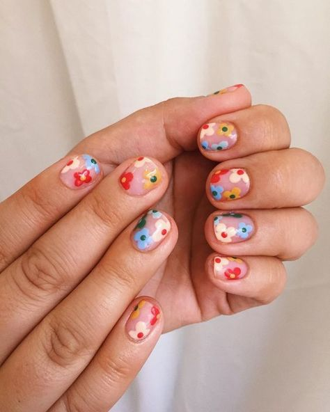 Funky Nails, Cute Nails, Pretty Nails, Funky Nail Art, Trendy Nail Art, Best Acrylic Nails, Acrylic Nail Designs, Summer Acrylic Nails, Pastel Nails
