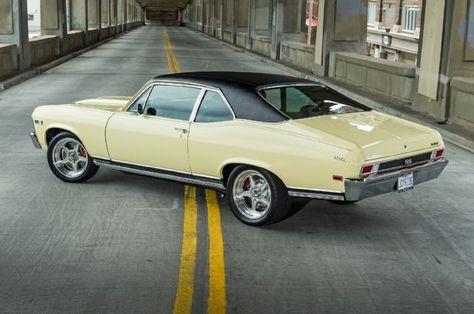 4 1968 Chevy Nova Ss Side Rear View
