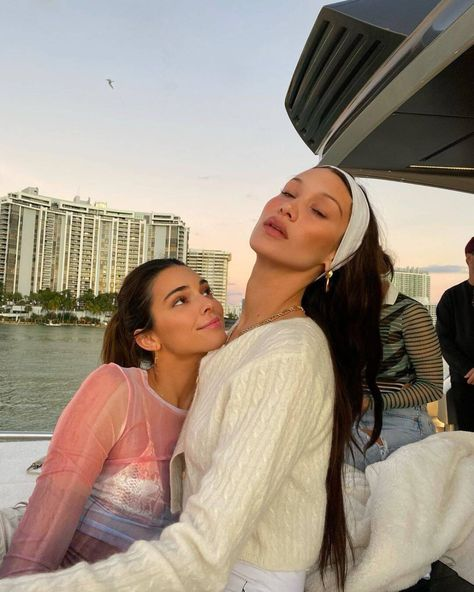 Sunset Sensations from Bella Hadid and Kendall Jenner's Miami Girls' Trip
