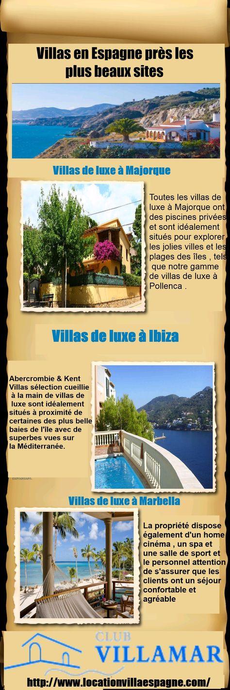 villa de vacances avec piscine privée location villa espagne