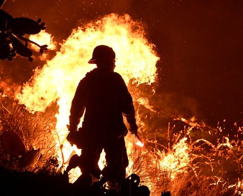 Firefighter Killed Battling Massive California Blaze