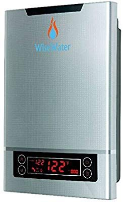 Wisewater Tankless Hot Water Heater Electric Self Modulating Power 11kw 3 0 Gpm Multiple Points Of Us Tankless Hot Water Heater Water Heater Hot Water Heater