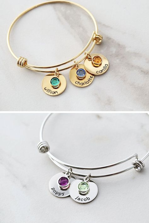 Mother's Day Birthstone Bracelet