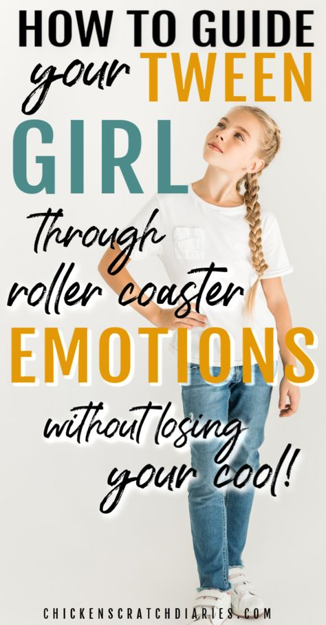 The tween years: raising girls and surviving the ups and downs that come with ad. - The tween years: raising girls and surviving the ups and downs that come with adolescence: it can b - Parenting Teenagers, Parenting Humor, Kids And Parenting, Parenting Hacks, Gentle Parenting, Peaceful Parenting, Parenting Styles, Indian Parenting, Mindful Parenting