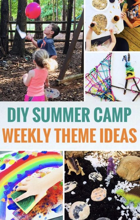Fun DIY Summer Camp Ideas {Camp Mom}