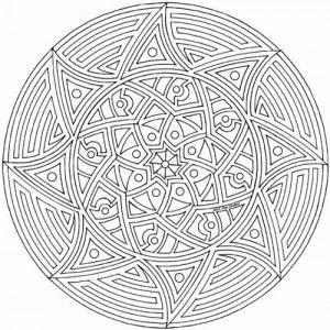 Mandalas Para Colorear Dificiles Y Bonitas 8 Mandalas Para
