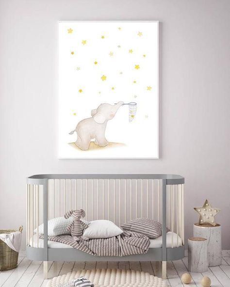 Elephant Nurseryart Nursery