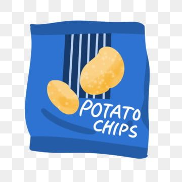 Illustrator Of Potato Chips Snack Chips Clipart Blue Bag Cartoon Illustration Png Transparent Clipart Image And Psd File For Free Download In 2021 Potato Chips Snack Chips Cartoon Potato