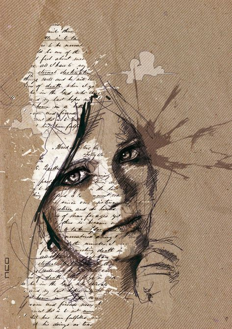 Amazing Portrait Illustrations by Florian Nicolle | Cuded