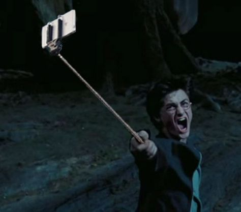 #HarryPotter #selfie #moment