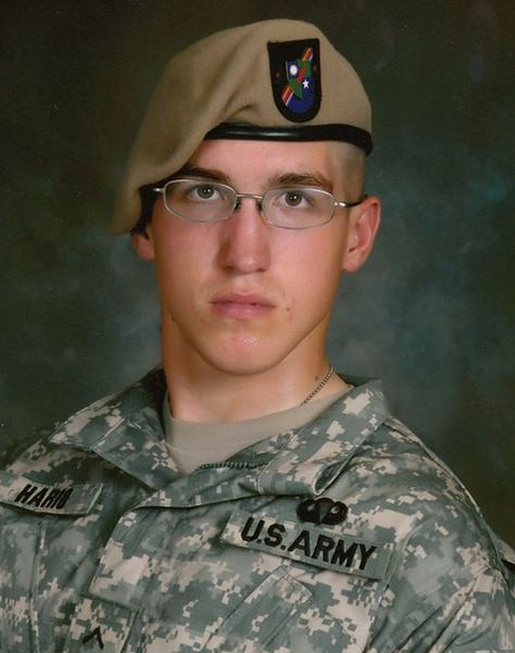 #The75thRangerRegiment ....... Honoring our fallen Hero: PFC. ERIC WILLIAM HARIO Died on Aug. 29, 2009 Operation Enduring Freedom Pfc. Eric W. Hario, 19, was an infantryman assigned to 1st Battalion, 75th Ranger Regiment at Hunter Army Airfield, Ga. He was born Dec. 9, 1989, in Monroe, Mich. 19 years old... I have no words. :( Thank you is not even enough.