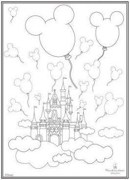 Best Drawing Disney Castle Art Prints 23 Ideas Mickey Coloring Pages Castle Coloring Page Free Coloring Pages