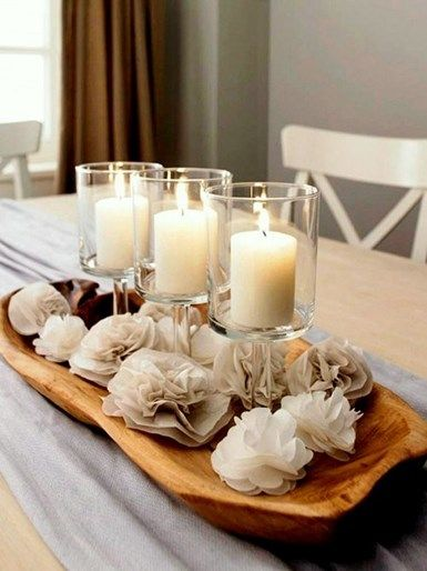 40 Stunning Ideas To Be Creative With Candle Decoration This Diwali Dining Room Table Centerpieces Cheap Home Accents Decor