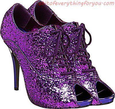 25+ Purple high heel shoes clipart ideas
