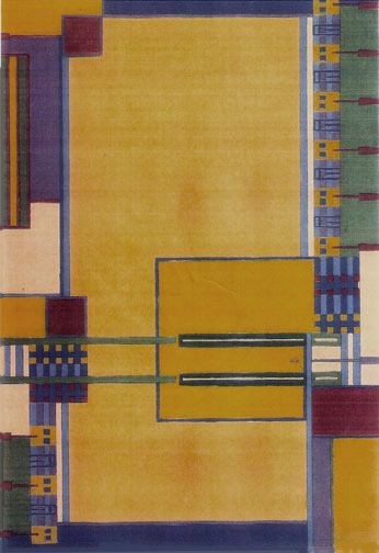 Frank Lloyd Wright Mission Style Inspired Rug | Home Decor | Pinterest | Frank  Lloyd Wright, Lloyd Wright And Craftsman
