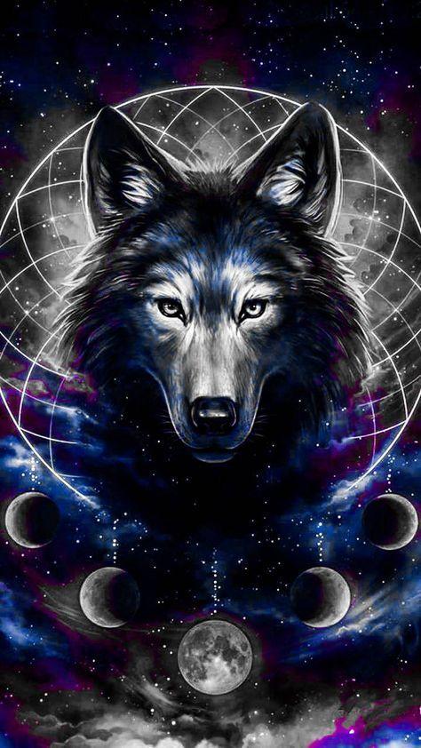 Super Wallpaper Galaxy Wolf Ideas Wolf Wallpaper Wolf Artwork Wolf Photos