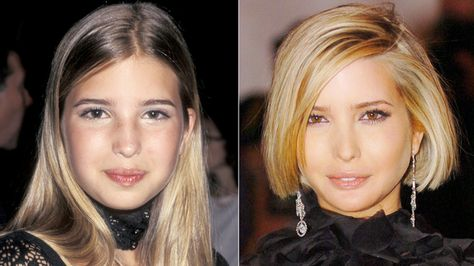 A Roundup Of Ivanka Trump 39 S Most Gorgeous Makeup And Hair Looks Over The Years Ivana Trump Young Ivanka Trump Beauty