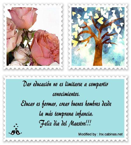 Mensajes Para El Dia Del Maestro Poemas Para El Dia Del Maestro