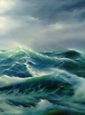 Pin By Lhhs Art Account Mr Robertson On Sea Scapes Ocean Waves Painting Ocean Painting Ocean Art
