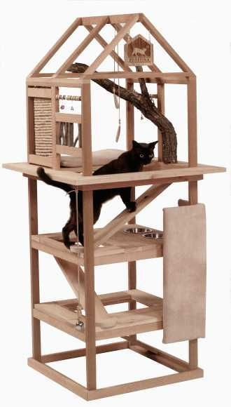 Cat Environment And Like Omg Get Some Yourself Some Pawtastic Adorable Cat Apparel Cat Tree Cat Diy Cat Furniture