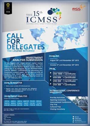 Competition #ICMSS #Indonesia #CapitalMarket #InvestmentAnalysis - investment analysis