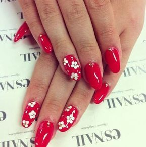 Simple Red Nail Designs For Summer 2018 Red Nail Art Red Nail