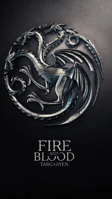Game Of Thrones Wallpaper Fire And Blood Targaryen