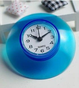 Cool Wall Clocks Waterproof Bathroom Clock With Suction Cup Pinterest Alarm And Unusual