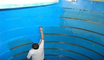شركة عزل خزانات بابها Water Tank Types Of Insulation Clean House