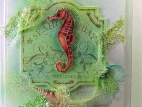 Video Tutorial on how to make this card by Linda Duke