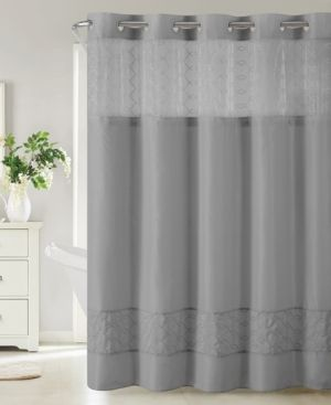 Hookless Downtown Soho 3 In 1 Shower Curtain Bedding Shower