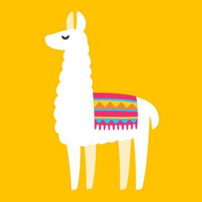 Royalty Free Llama Clip Art Vector Llama Drawing Cartoon Llama Llama Painting