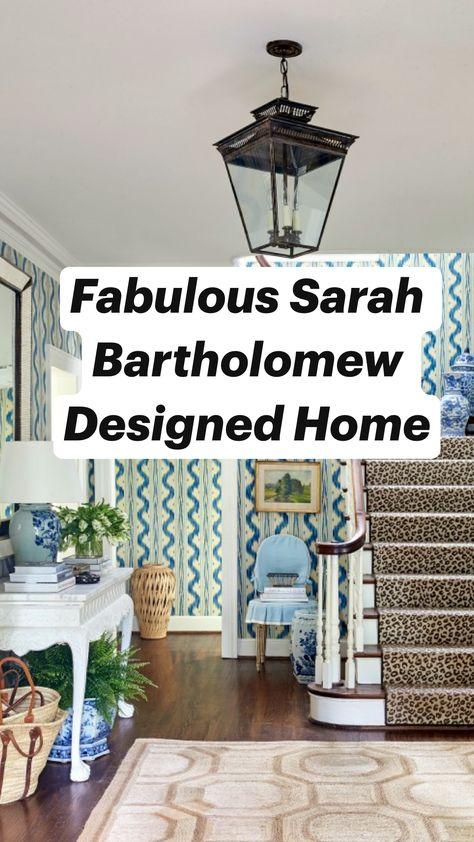 Fabulous Sarah Bartholomew Designed Home