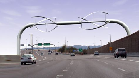 Top Article from 2019 - Traffic Powered Wind Turbines    AltEnergyMag