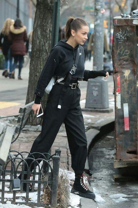 Top 25 Street tenues de Bella Hadid qui vous donneront envie de la mode!