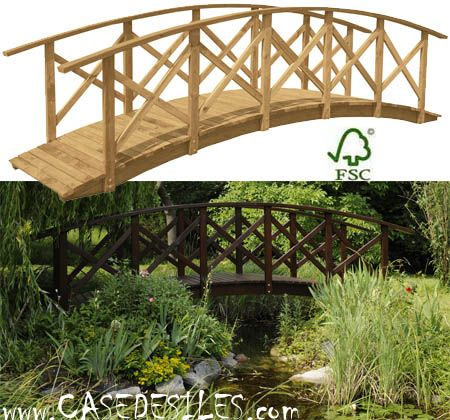 Pont Bois De Jardin A Prix Reduit Pont Bois De Jardin Grande